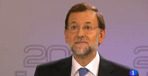 Captura del debate electoral televisado de 2011
